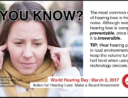 Dominick Servedio AuD, New York Audiologist on World Hearing Day