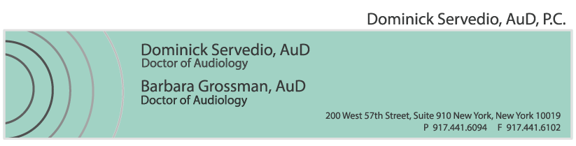 Dominick Servedio Audiology- New York