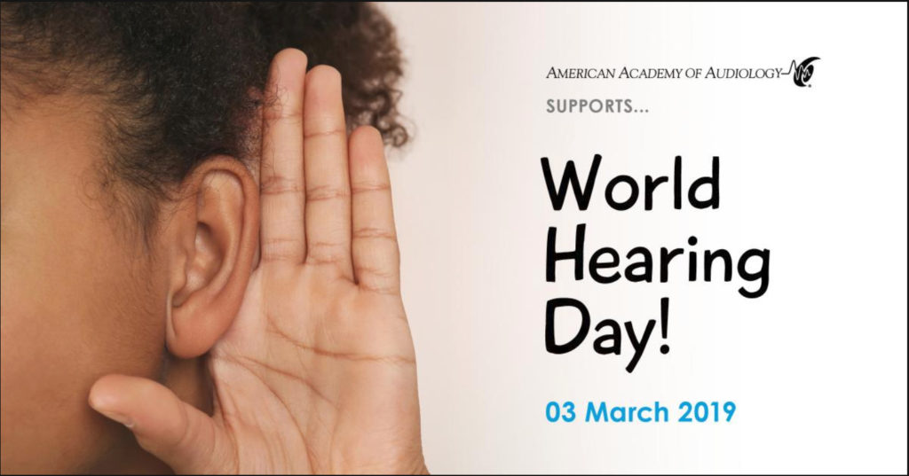 Dominick Servedio Audiology World Hearing Day March 3rd 2019